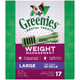 Greenies Weight Management Dental Chew Large 27oz