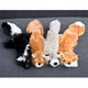 Skinneeez Mini Stuffing Free Dog Toy Fly Squirrel