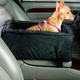 Luxury Console Pet Car Seat Large Buff Mutt