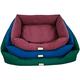 Armarkat Waterproof Dog Bed XLarge Burgundy
