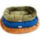 Armarkat Waterproof Velvet Pet Bed Small Brown