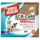 Simple Solution Eco Care Puppy Training Pads 80pk