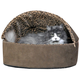 KH Mfg Deluxe Heated Mocha Cat Bed Large