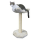 Kitty Cot Scratching Post w/ Resting Perch Tan