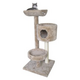 The Lookout Three Tier Cat Tree w/Tower Tan