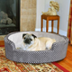 KH Mfg Self-Warming Cozy Sleeper Gray Dog Bed SM