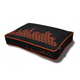 PLAY Sfyline Black/Orange Rectangle Dog Bed Medium
