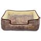 PLAY Savannah Brown Lounge Dog Bed XLarge