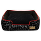 PLAY Kalahari Black Lounge Dog Bed XLarge