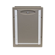 PetSafe Wall Entry Aluminum Pet Door Medium