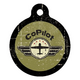 Co-Pilot Pet ID Tag Small