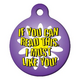 I Must Like You Pet ID Tag Small
