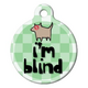 Im Blind Pet ID Tag Large