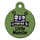 Little Monster Pet ID Tag Large