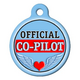 Official Co-Pilot Pet ID Tag Small