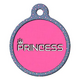 Princess Pet ID Tag Small
