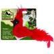 Play N Squeak RealBirds Cat Toy Cardinal