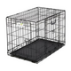 Ovation Trainer Double Door Dog Crate 48Lx30Wx33H