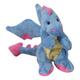 goDog Periwinkle Dragons Stuffed Dog Toy Large