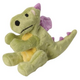 goDog Lime Green Dragons Stuffed Dog Toy Large