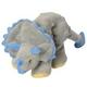 goDog Dinos Frills the Triceratops Dog Toy Large