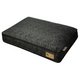 PLAY Frolic Mystic Black Rectangle Dog Bed Large
