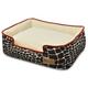 PLAY Kalahari Brown Lounge Dog Bed XLarge