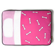 PLAY Tuck Me In Pink Rectangle Dog Bed Medium