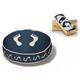 PLAY Footprint Blue Round Change-a-Cover Medium
