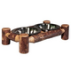 Montana Woodworks Glacier Country Pet Feeder Small