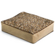 Crypton Dottie Neutral Rectangle Dog Bed Large