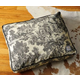 BowhausNYC Toile Pillow Dog Bed Large