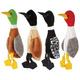 Grriggles Wild Bird Unstuffies Dog Toy LG Duck