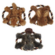 Grriggles Fuzzy Flyer Dog Toy Chipmunk