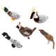 Grriggles Squawk Flock Dog Toy Quail