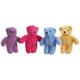 Zanies Berber Bear Dog Toy YEL
