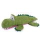Zanies Corduroy Croc Dog Toy SM