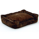Jax and Bones Choco Corduroy Lounge Dog Bed XLarge