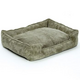 Jax and Bones Olive Corduroy Lounge Dog Bed XLarge