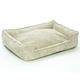 Jax and Bones Sand Corduroy Lounge Dog Bed XLarge