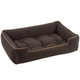 Jax and Bones Microsuede Choco Dog Bed XLarge
