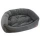Jax and Bones Velour Slate Dog Bed XLarge