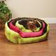 Slumber Pet Reversiable Plush Nest Dog Bed LG PNK
