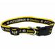 Pittsburgh Steelers Yellow Trim Dog Collar Large