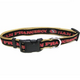 San Francisco 49ers Gold Trim Dog Collar Large