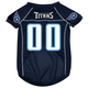 Tennessee Titans Dog Jersey X-Large