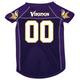 Minnesota Vikings Dog Jersey X-Large