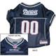 New England Patriots Dog Jersey X-Large
