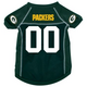 Green Bay Packers Dog Jersey X-Large