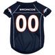 Denver Broncos Dog Jersey X-Large